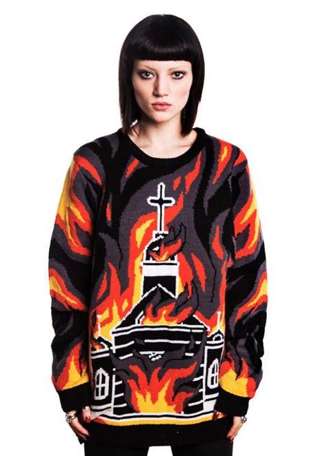 New Atitude Sweater killstar varg knit sweater attitude clothing