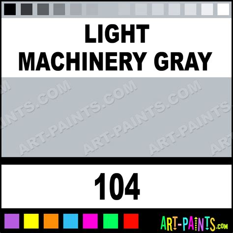 light machinery gray industrial colorworks enamel paints 104 light machinery gray paint