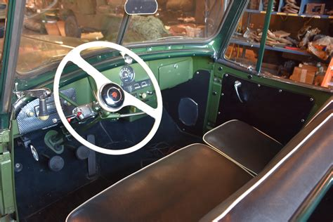 willys jeepster interior 1950 willys jeepster convertible 201008