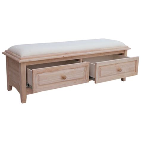 wooden bench seat with drawers bench with storage drawers benches