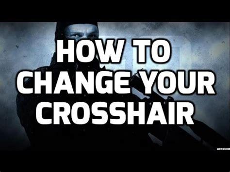 how to change your crosshair in cs: go! crashz