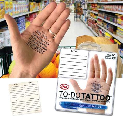 how to pen tattoo yourself to do list temp tattoo a reason to scribble on your skin