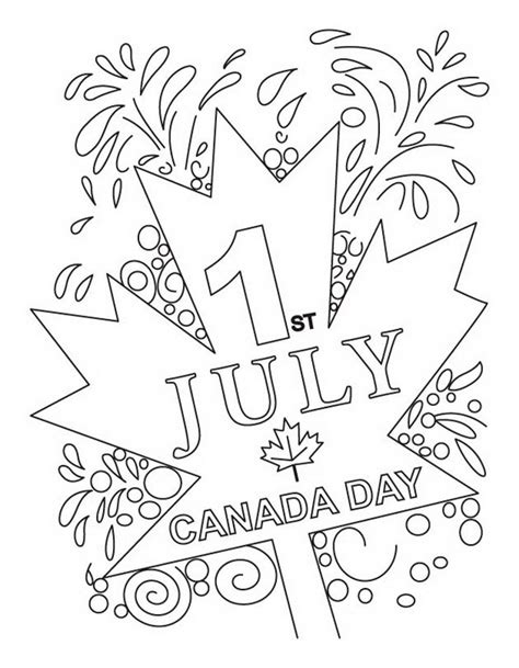 printable coloring pages canada day canada day coloring pages family net guide to