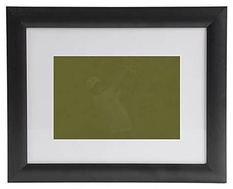 matted picture frame matted picture frames w black plastic profile