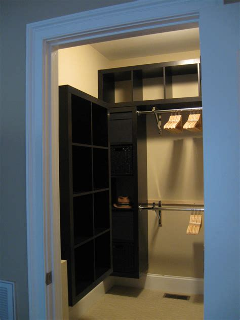 wardrobe ideas ikea expedit closet small walk in ikea hackers ikea hackers