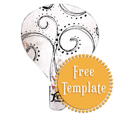 air balloon templates free air balloon template stington company