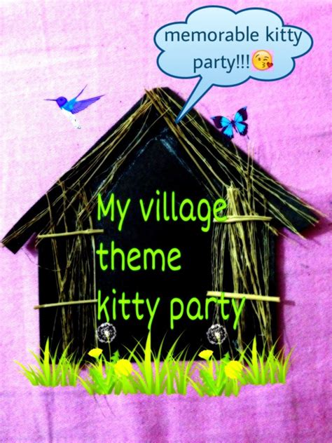 Ho kitty village theme kitty party ideas and games