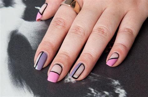 nail art negative space tutorial 26 ways to rock negative space nails brit co