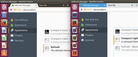 mozilla default themes these are the new themes shipping in firefox 53 omg ubuntu
