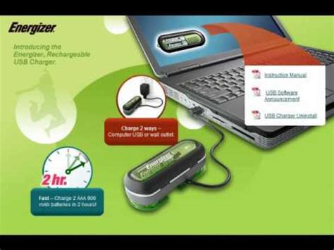 Energizer Rechargable Usb Batteries Bunny Not Included by Free Energizer Usb Duo Charger Software Windows
