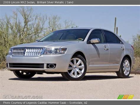 2009 Lincoln Mkz by Brilliant Silver Metallic 2009 Lincoln Mkz Sedan Sand