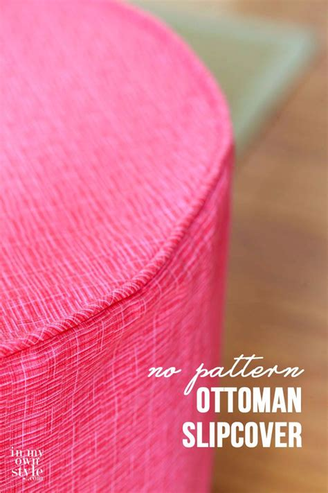 directions for making an ottoman slipcover 27 best images about sewing on pinterest ottoman