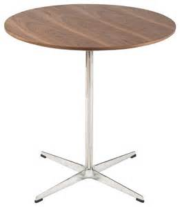 cafe tische walnut cafe dining table contemporary indoor pub