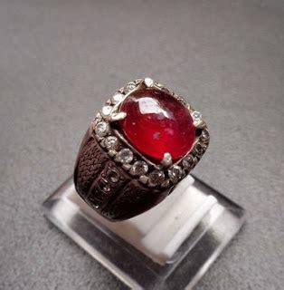 Batu Akik Merah Siam Ring Rodium manfaat batu merah delima