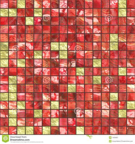 rote fliesen rote goldene fliesen lizenzfreie stockfotografie bild
