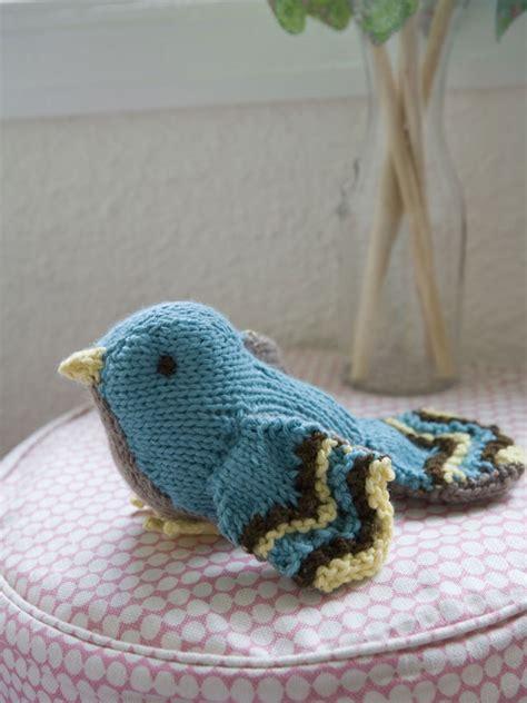parrot knitting pattern free bertie bird berroco