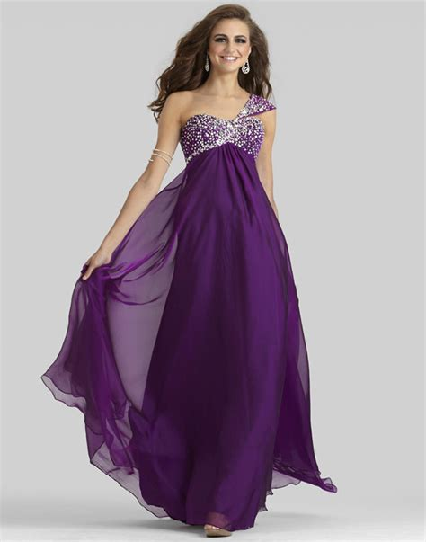 Purple formal dresses with sleeves   Style Jeans
