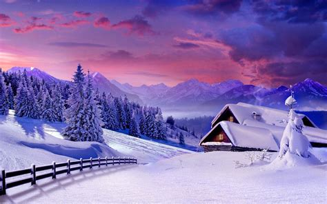beautiful winter beautiful winter scenery wallpaper wallpapers and pictures