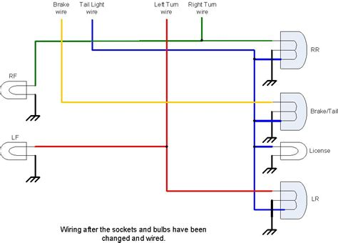 chevy trailer light wiring diagram get free image about
