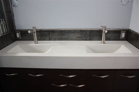 48 undermount trough sink faucet trough sink vanity