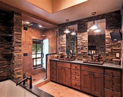 Colorado Kitchen Designs Les Beaux Exemples De Salle De Bain Rustique 40 Photos