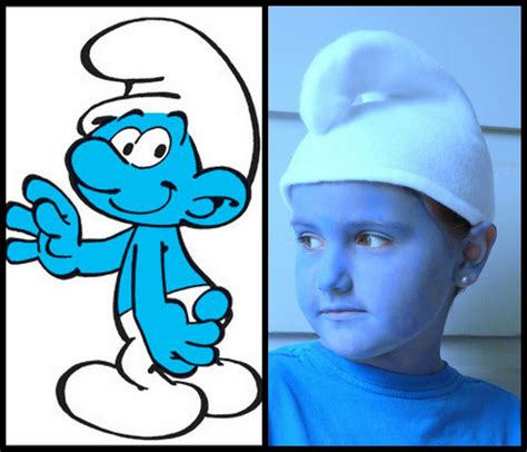 How To Make A Smurf Hat Out Of Paper - kissed by a frog frog linky 5