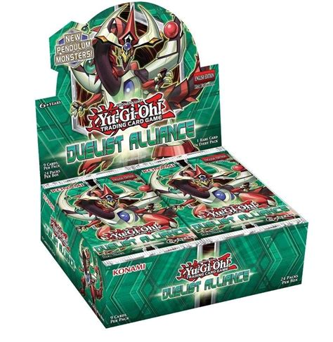 Kartu Yugioh Box duelist alliance 1st edition booster box yu gi oh