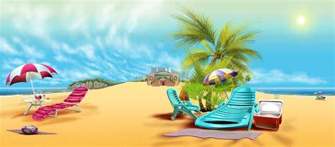 cartoon vacation wallpaper beach background by savarkdicupe on deviantart
