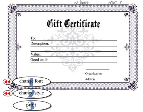 editable certificate templates classic design of editable certificate template with
