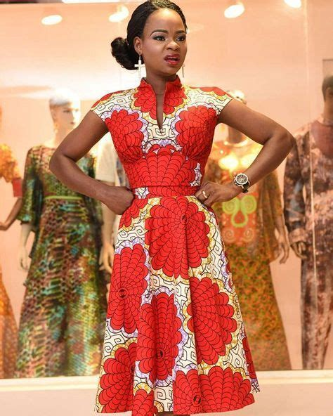 Mode Africaine 2017 Robe Lecture D Un Message Mail Orange Ankara 2017