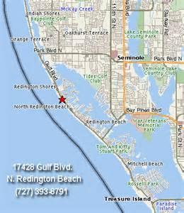 map of redington florida far horizons motel n redington florida