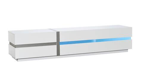 banc tv blanc laque ligne de led guide d achat