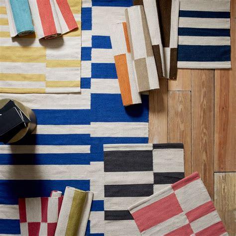 dhurrie rug west elm breezy classic summer motifs