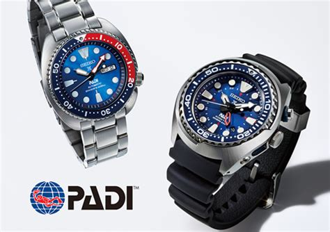 SEIKO WATCH   Press Release   Seiko announces a partnership with PADI, the world's largest