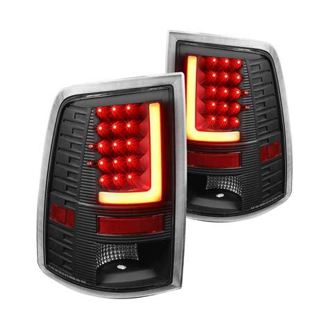 fiber optic tail lights lumen 174 black fiber optic led tail lights