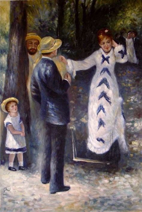 La Balancoire by Auguste Renoir La Balan 231 Oire Tableau De Renoir Et