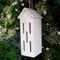 handmade butterfly house by the painted broom company