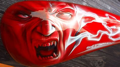 Airbrush Motive Motorrad by Custom Airbrush Motorcycles Tank Designs