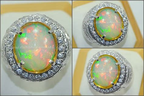 Batu Black Opal Siap Naik Ring 4 17 best images about opal gemstone batu kalimaya on black crystals toyota cars