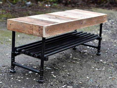 The Heavy Table by Wooden Pallet Industrial Coffee Table