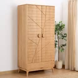 Oak Wardrobe Closet by Oak W921 Door Wardrobe Closet White Oak Solid
