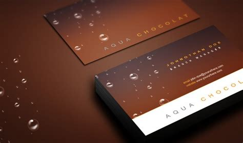 chocolate business card template free 150 free business card mockup psd templates