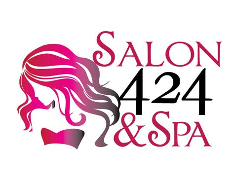 Hair Dresser Logos by New Logo Design For Salon 424 And Spa Pilcher Creative