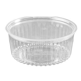Sho Clear sho bowl 32oz with hinged flat lid 150s