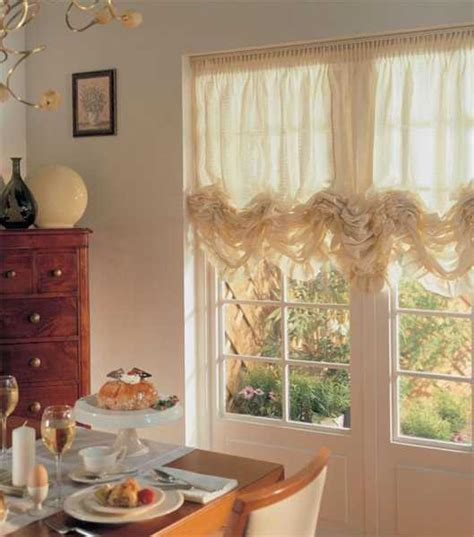 Window Curtains For Dining Room Decor 15 Window Decorating Ideas Balloon Curtains