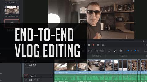tutorial edit video vlog how to edit a vlog in resolve 14 end to end davinci