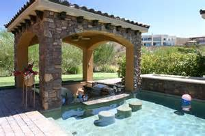 Backyard Pool Bar Swim Up Bar Sunken Barbecue Backyard Ideas Swim Kitchenettes And Swimming