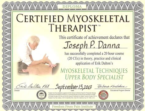 therapy certification atlantic muscular therapies llc certified