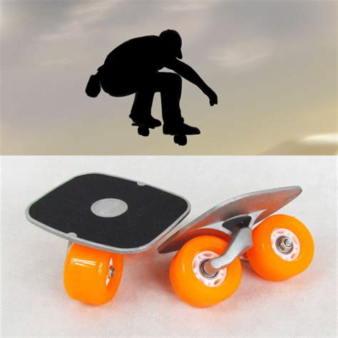Drift Board Papan Skateboard Mini Anti Selip Portable Drift Board For Freeline Roller Road Driftboard Skates Anti Skid Skate Board Skateboard