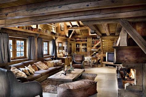 rustic interior design  beautiful houses   world
